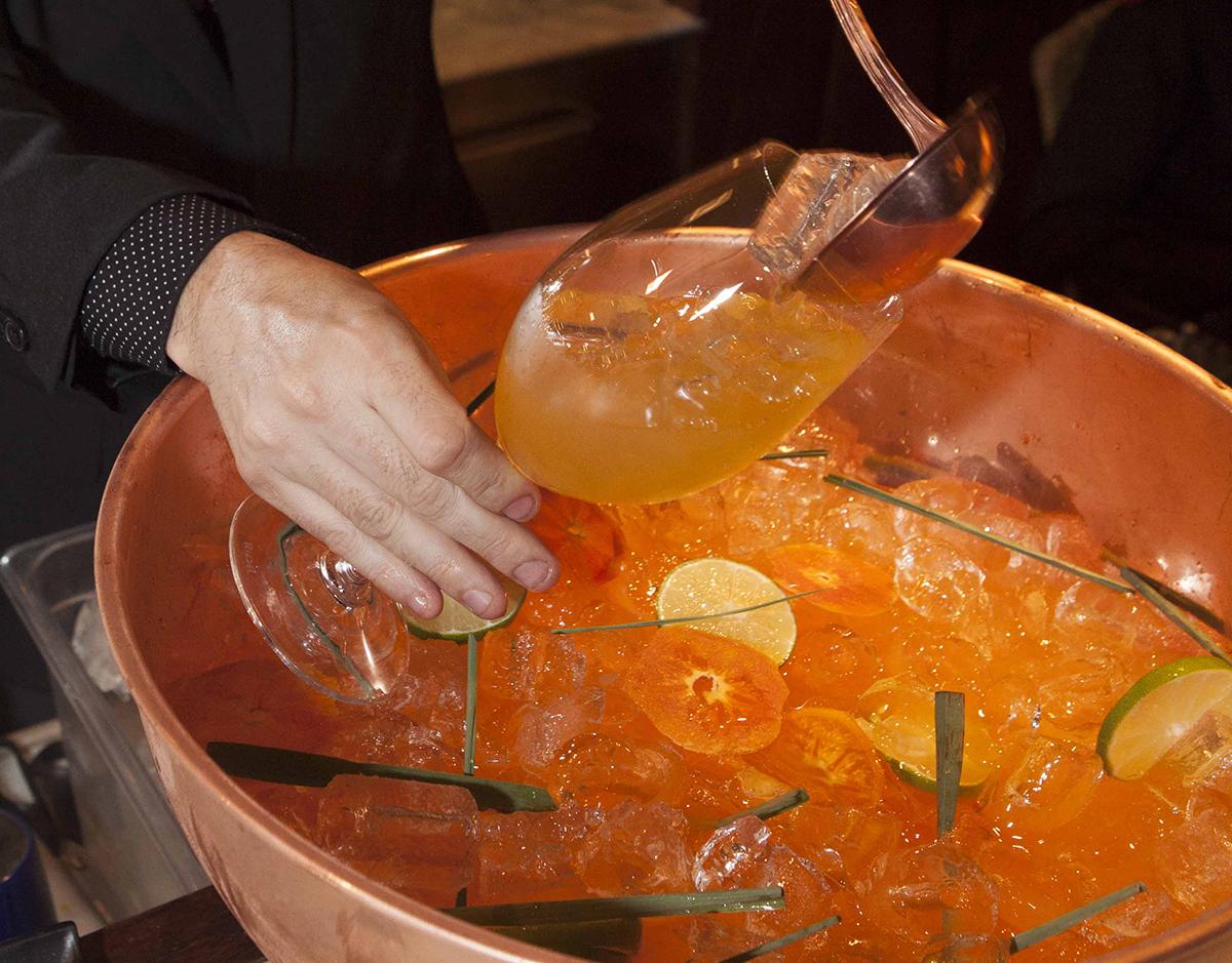 drink coletivo com tangerina