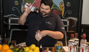 Mixologista da Pernod Ricard Brasil João Morandi