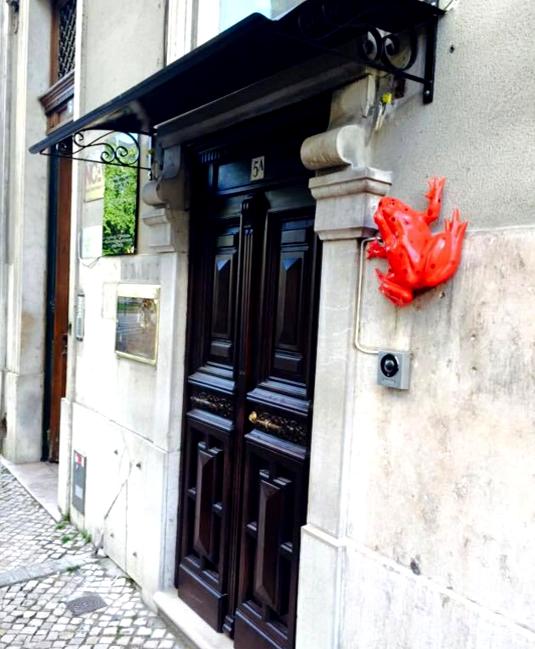 Fachada Red Frog - speakeasies