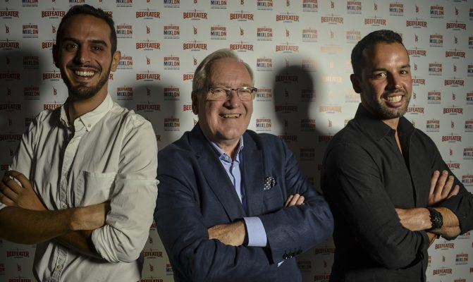 Tiago Olim, Desmond Payne e Bruno Siqueira MIXLDN7