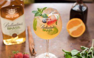 ballantine's brasil lime tonic drink