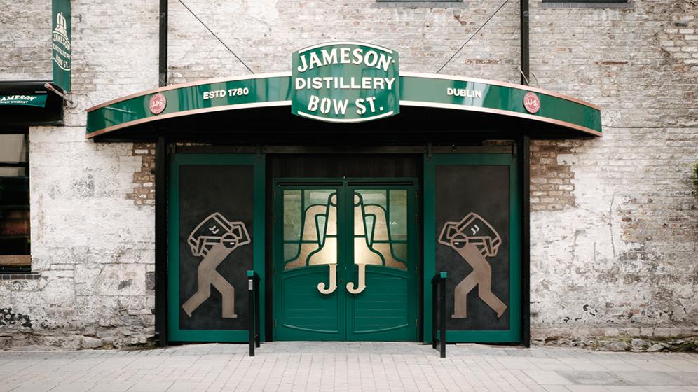 destilarias de whisky - whiskey - jameson bow st distillery
