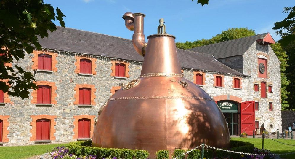 destilarias de whisky - whiskey - midleton distillery - jameson