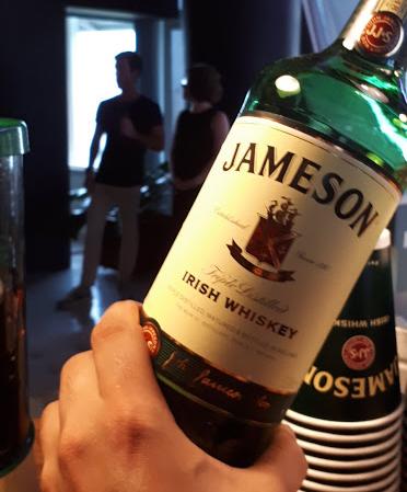 Jameson bartenders ball - redes sociais