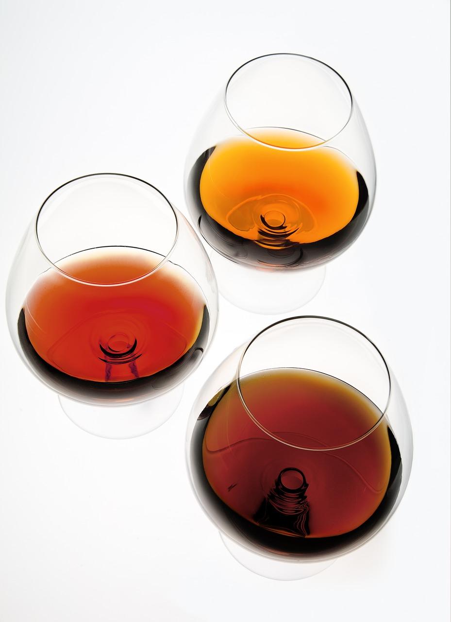 brandy ou cognac - cores