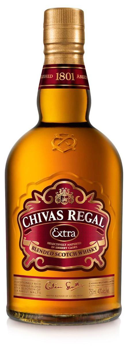 garrafa chivas extra