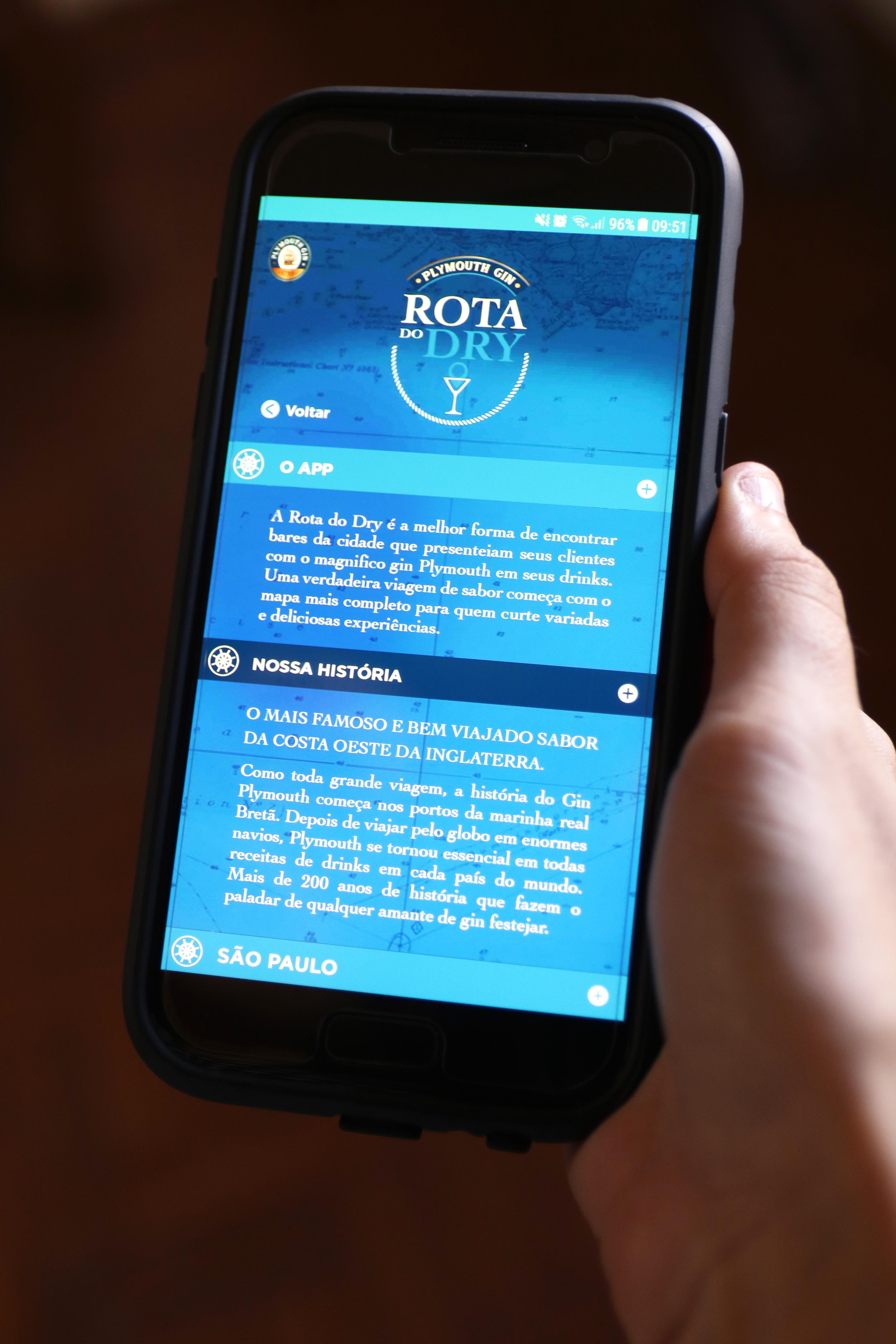 Rota do Dry app