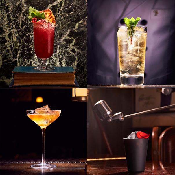 scarfes bar 4 drinks