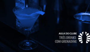 DRINKS COM GRENADINE VIDEOAULA CLUBE DO BARMAN