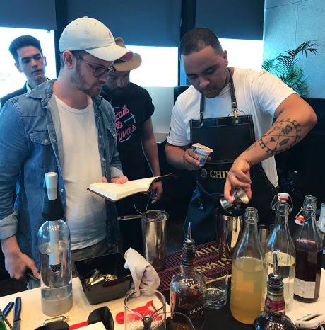 Chivas Masters - Alex Sepulchro - Cocktails em equipe