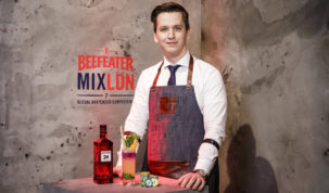 Maxim Schulte - Beefeater MIXLDN7 Global Final, London, February 2018.