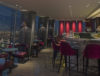 Balcão do Gong Bar, em Londres