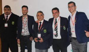 Delegação brasileira de bartenders no XXII Campeonato Pan-Americano de Coquetelaria