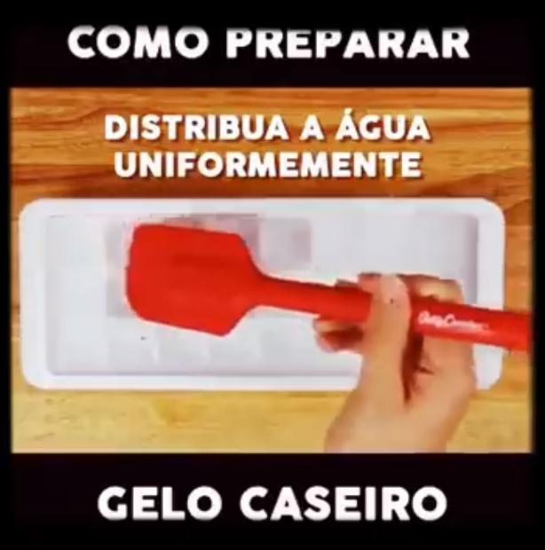 meme 'como preparar gelo caseiro'