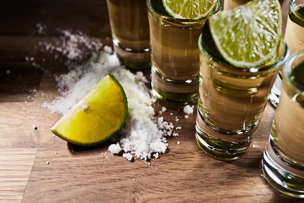 pairing de tequila, sal e limão