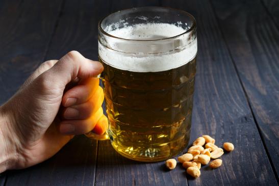 pairing de cerveja com amendoim