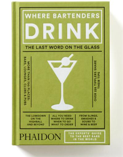 capa do livro where bartenders drink
