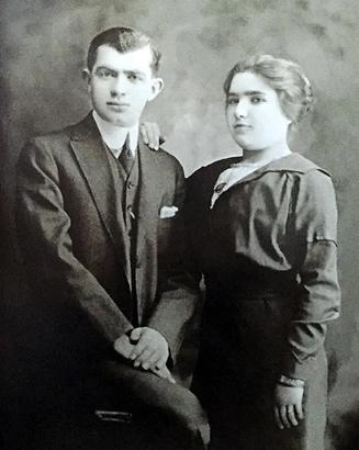 casal sophie Berezinski e Max Berezinski