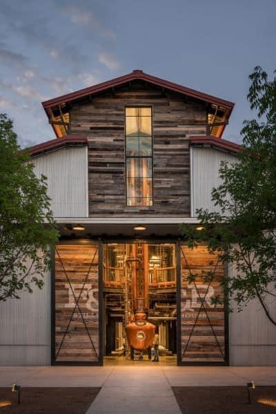 entrada do Whiskey Ranch