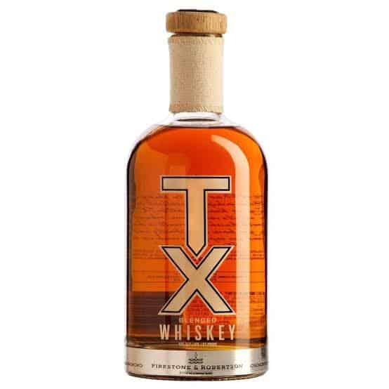 garrafa de tx blended whiskey
