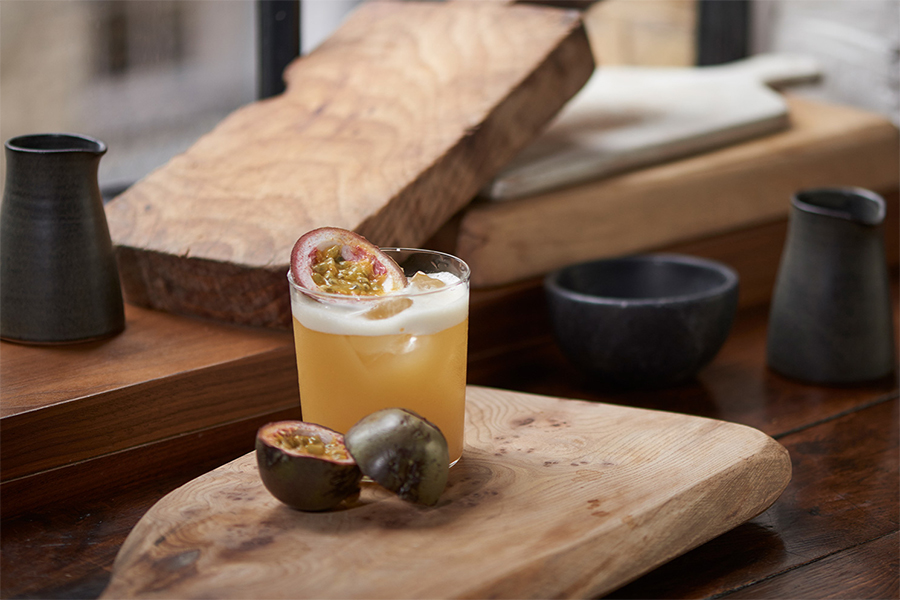 drink Whisky Passion Sour