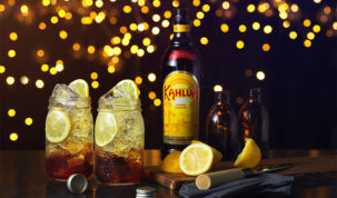 drinks com licor kahlúa