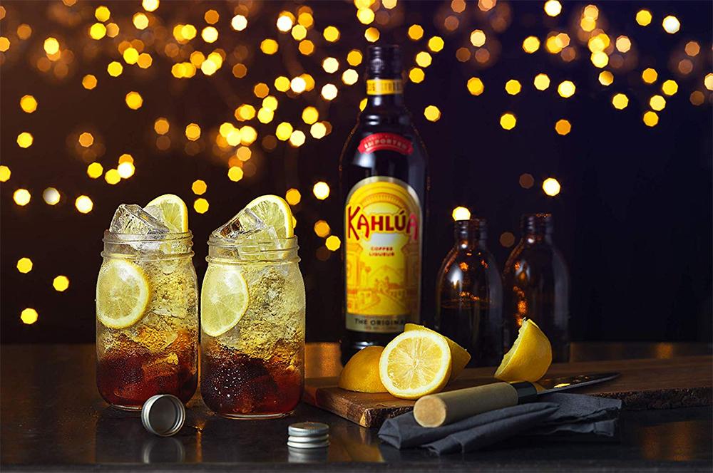 drinks com licor kahlúa