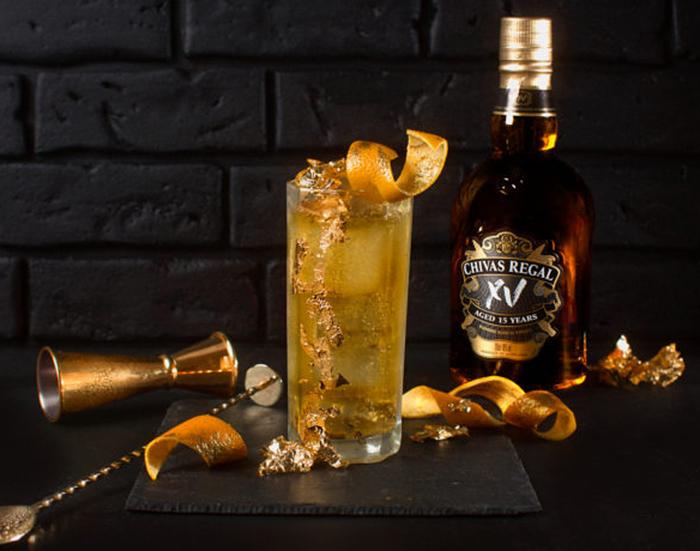 drink golden royal highball
