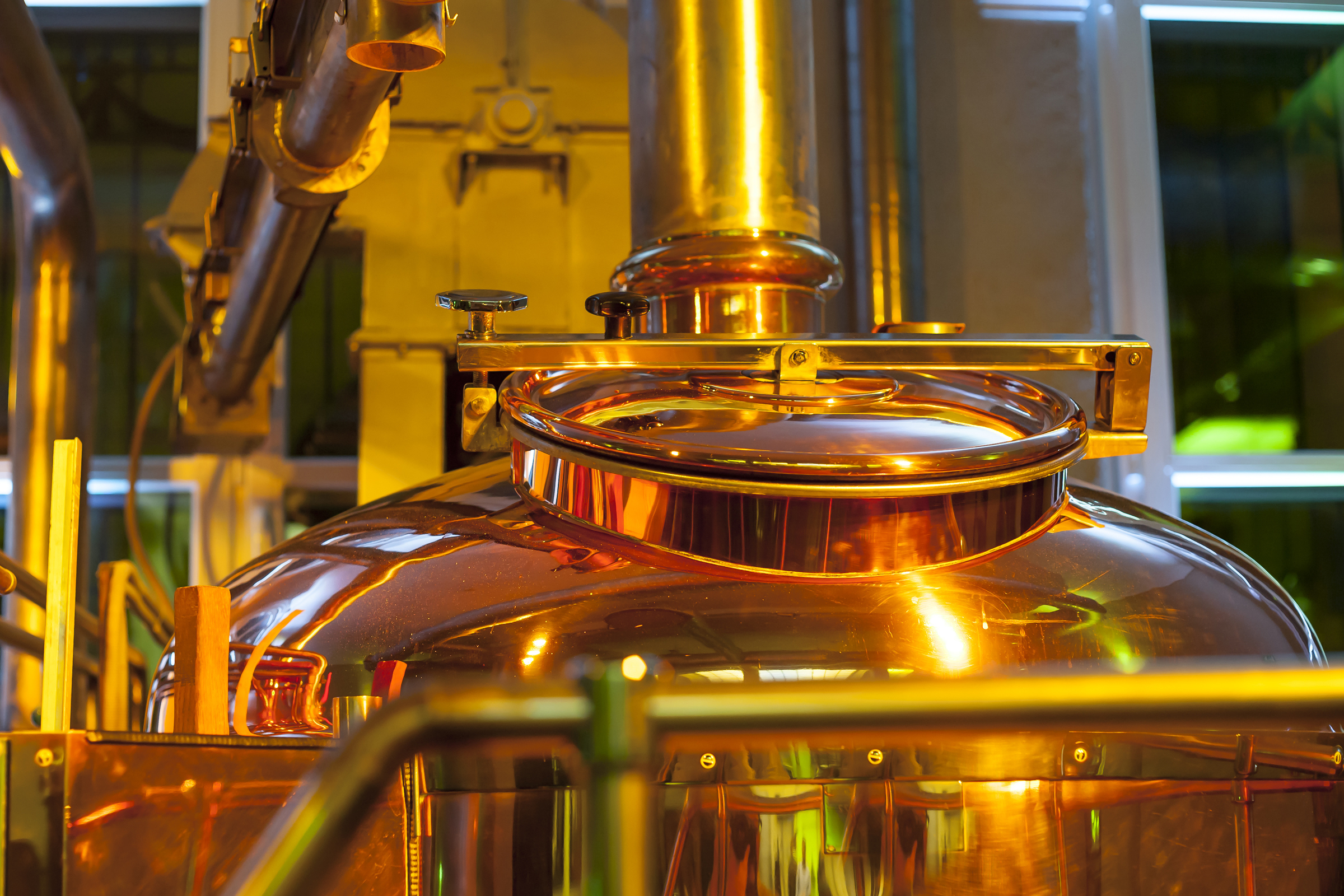 tonel de destilação e fermentação