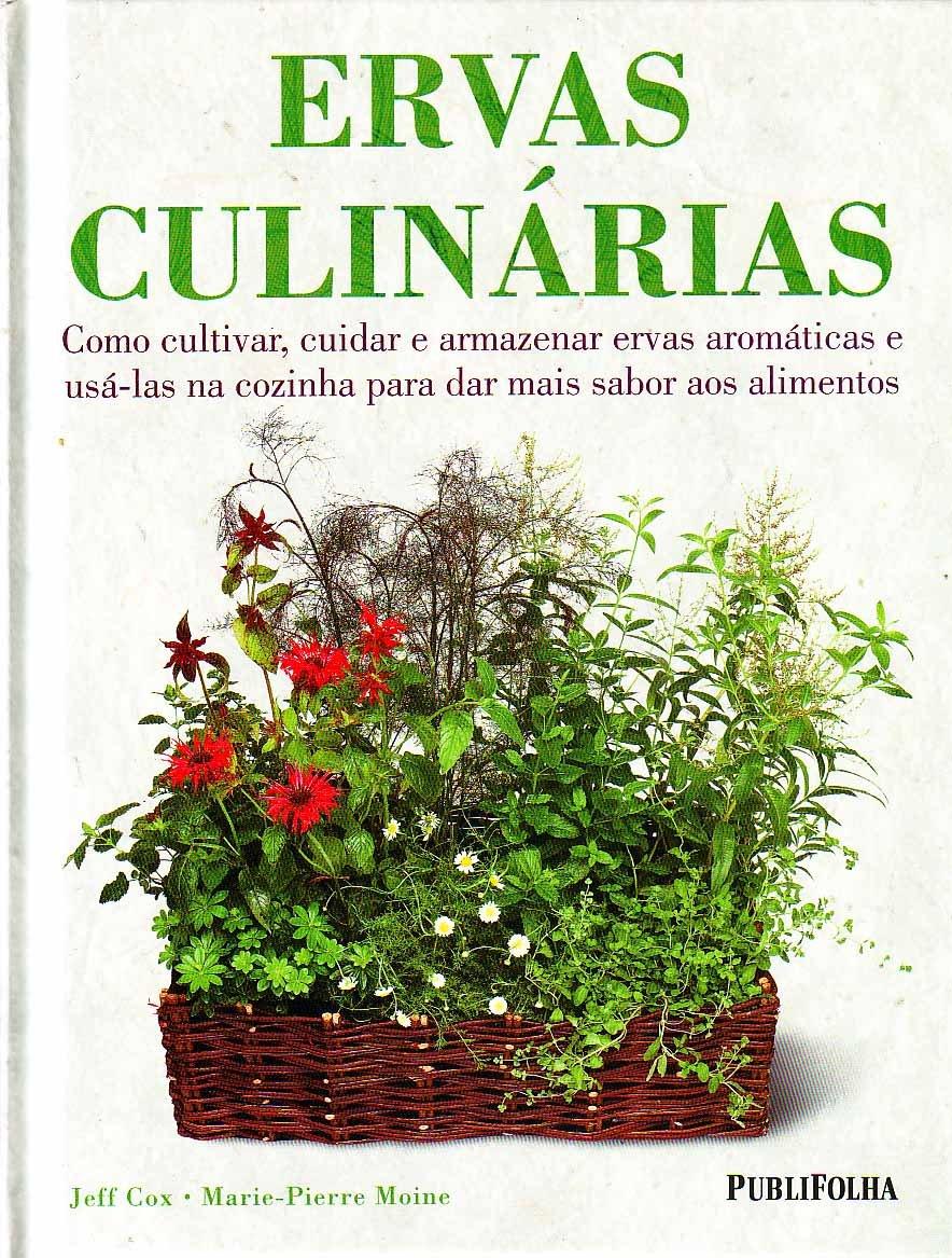 capa do livro ervas culinárias