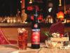 garrafa de amaro ramazzotti com cocktail ao lado