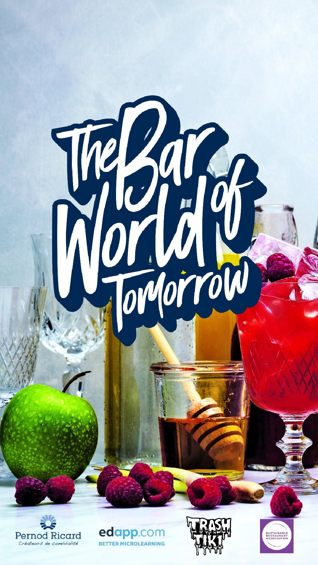 capa de divulgação do the bar world of tomorrow