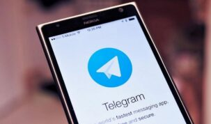 aplicativo do telegram no celular