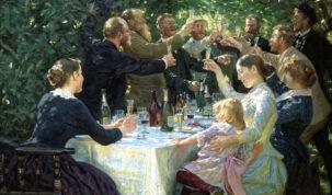 brinde entre família