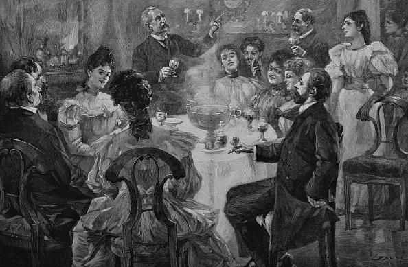 história dos brindes na inglaterra
