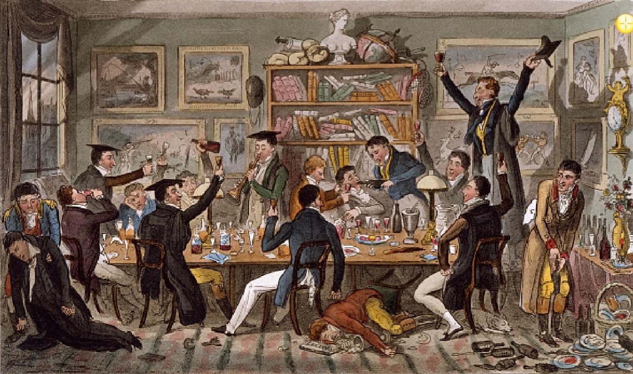 pintura de brinde coletivo