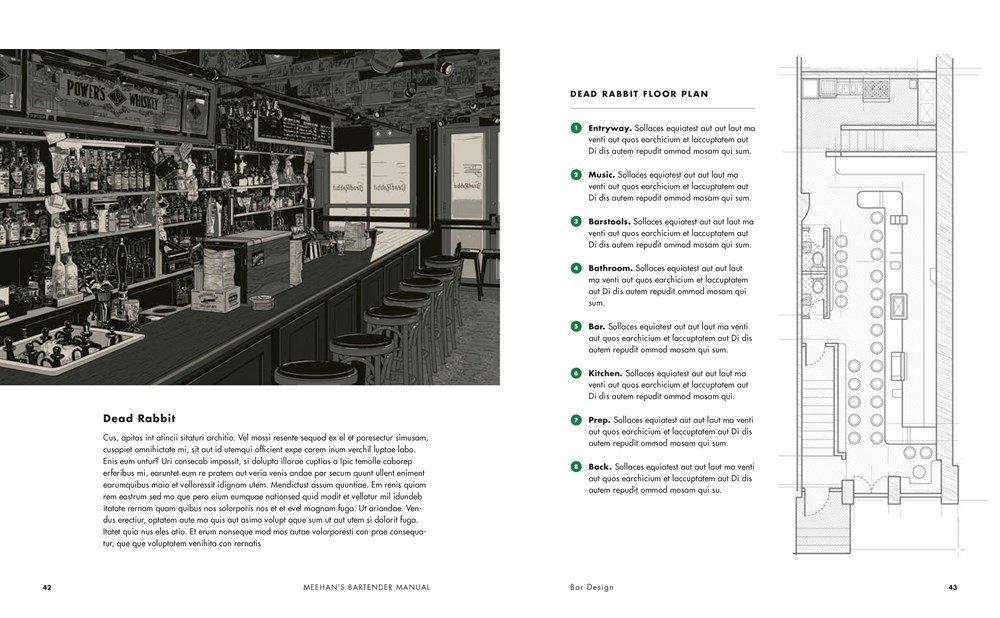 páginas internas do Meehan's Bartender Manual