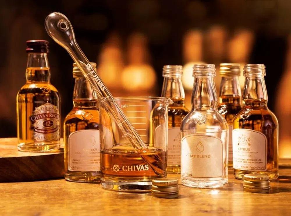 blends de whisky chivas regal