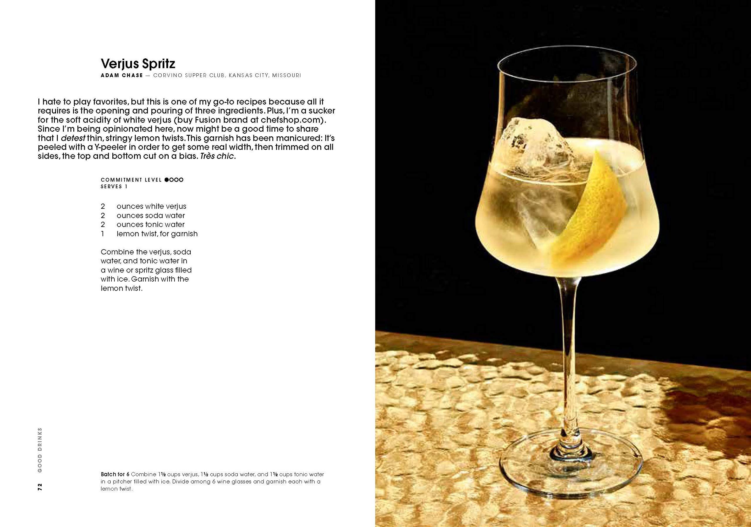 receitas do livro good drinks