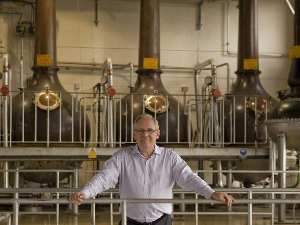 desmond payne na destilaria