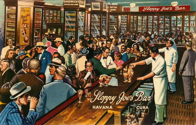 lIlustraçao Bar Sloppy Joes