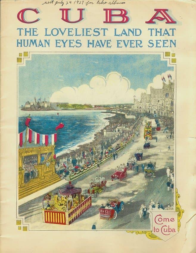 brochura turística de cuba